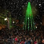 Isla Cristina celebra la Nochevieja con Gambas