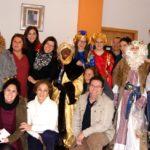 Los Reyes Magos visitan Asidem, la Residencia de Mayores y el Ayuntamiento