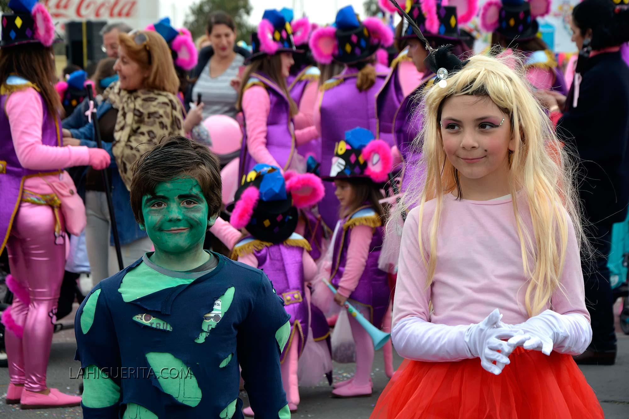Gran Cabalgata Infantil de Disfraces en Isla Cristina