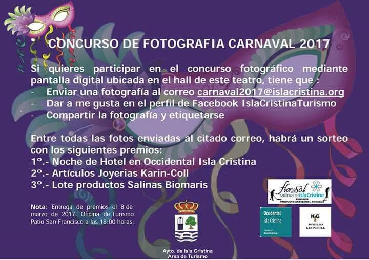 La Concejalía de Turismo convoca un concurso de ''Selfies Carnavaleros'
