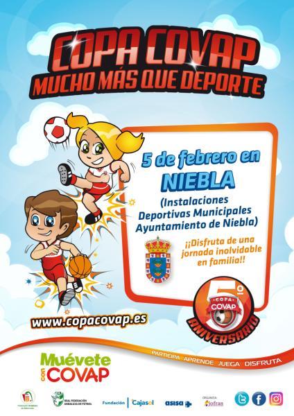 La UD Punta del Caimán en la fase provincial de la Copa COVAP 2017 en Niebla