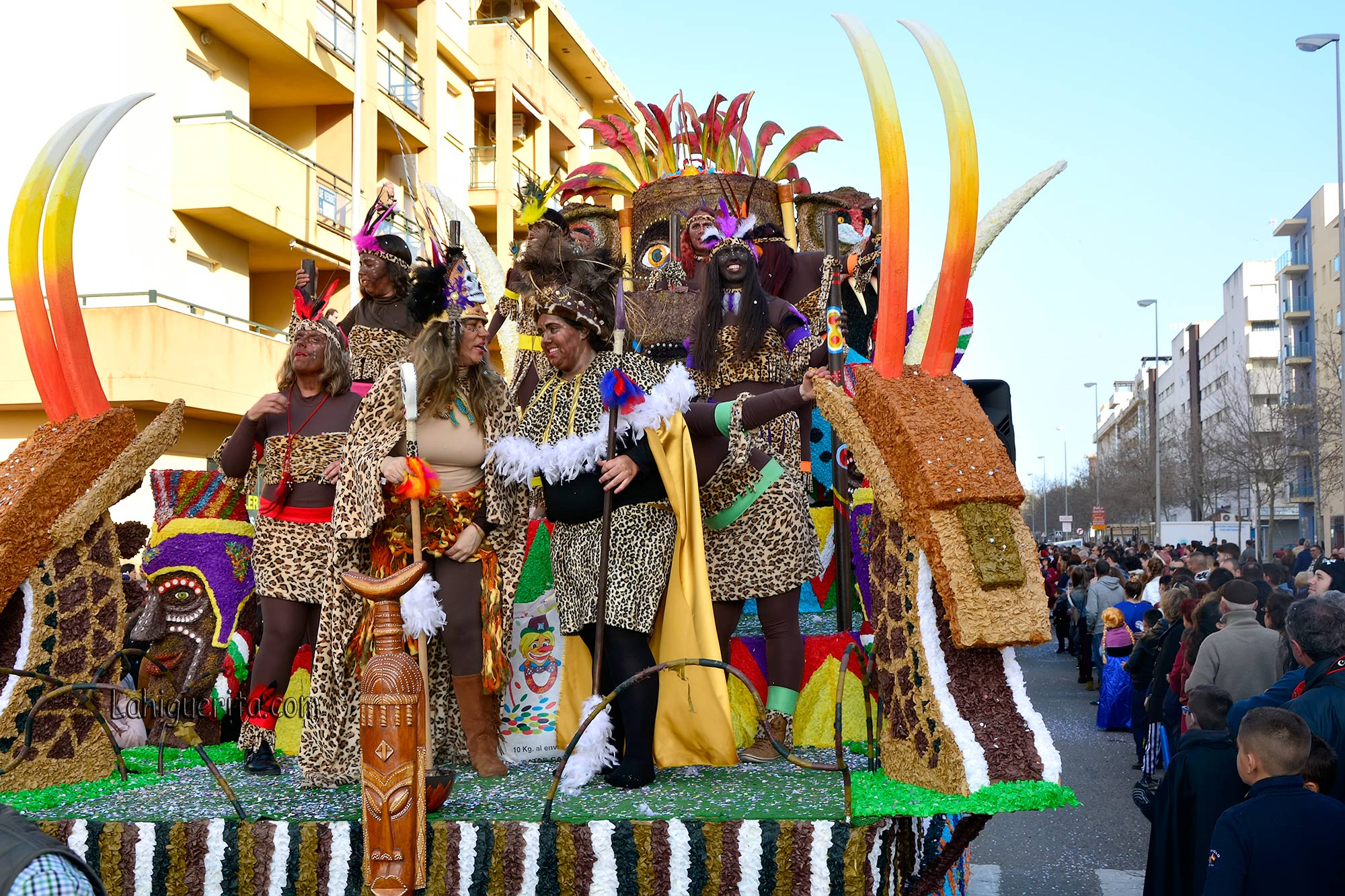 Premios de Cabalgata de Isla Cristina 2017