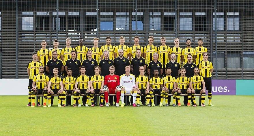 El filial del Borussia Dortmund ya se encuentra en la #CiudadDelFútbol de Islantilla Golf Resort.