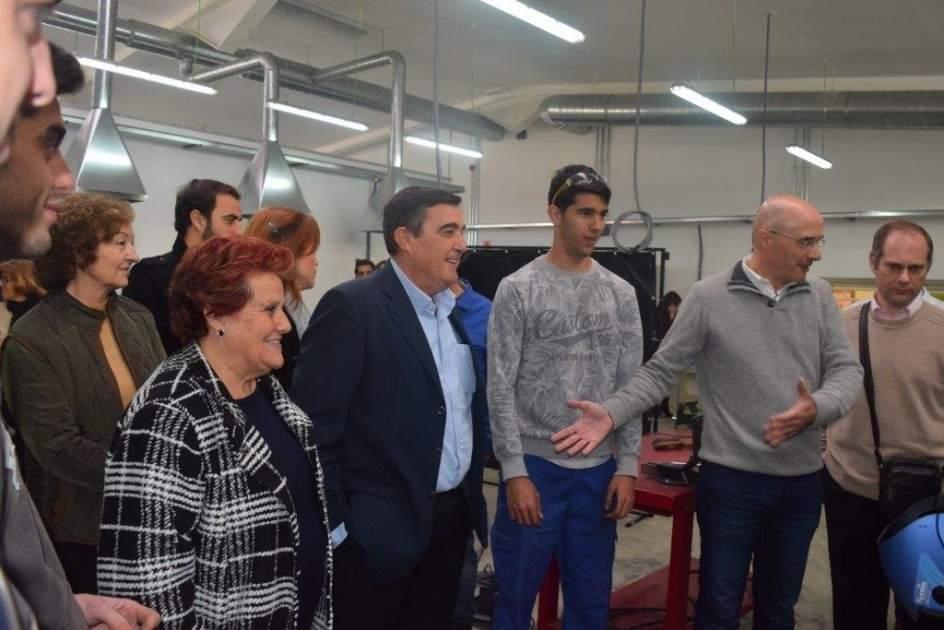 La Junta finaliza las obras de modernización del IES Padre José Miravent de Isla Cristina