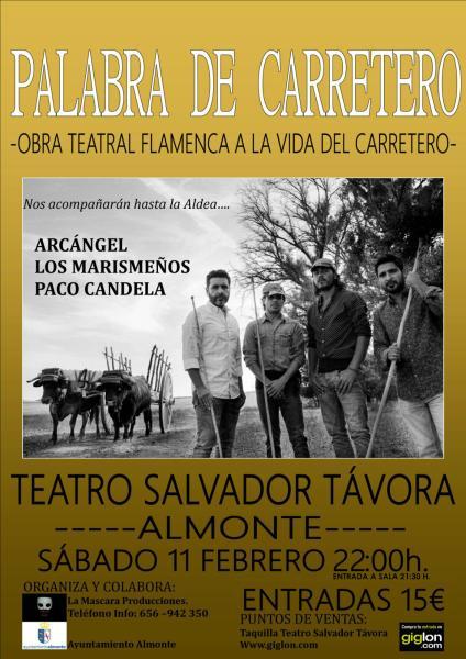 La obra teatral Palabra de Carretero Desembarca en Almonte