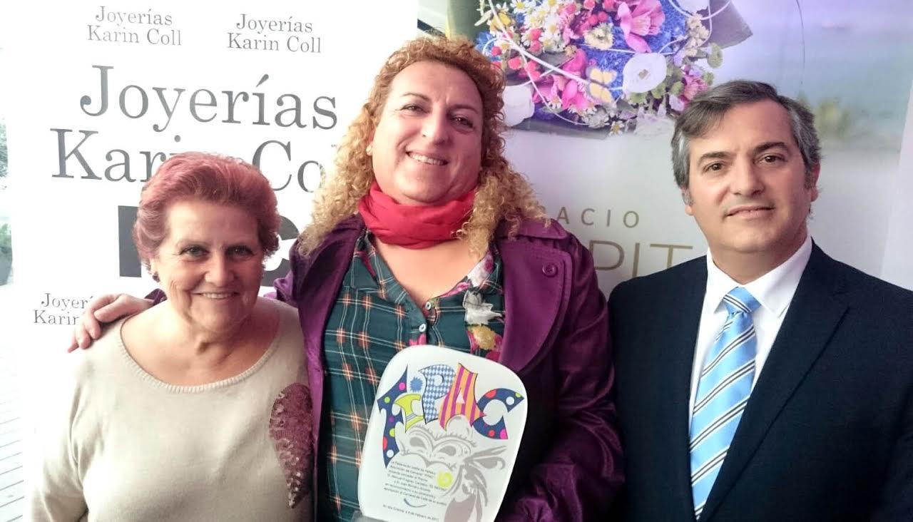 Premio Manuel Fragoso 'El Patitas' en los carnavales de Isla Cristina 2017