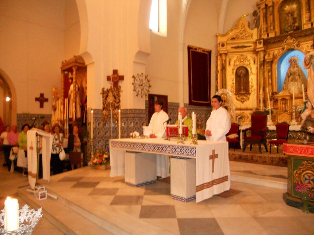 Sabatina de La Ilustre Hermandad de Nuestra Señora del Rocío de Isla Cristina