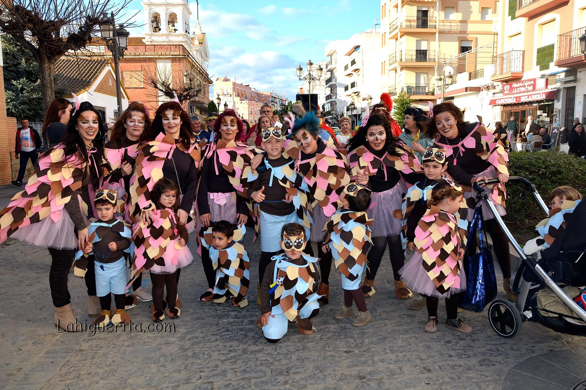 Lunes de Disfraces en el Carnaval de Isla Cristina 2017
