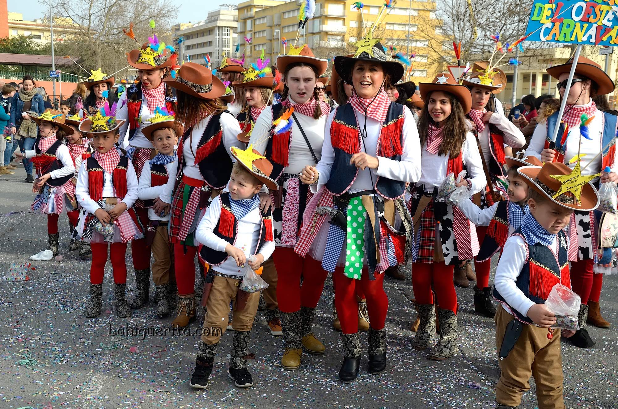 Cabalgata Infantil de Disfraces de Isla Cristina