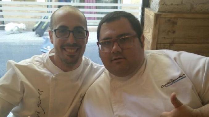 El Chef Ernest Jurado, representa a Huelva en la II Gala Esparrago Chef de Huétor Tajar