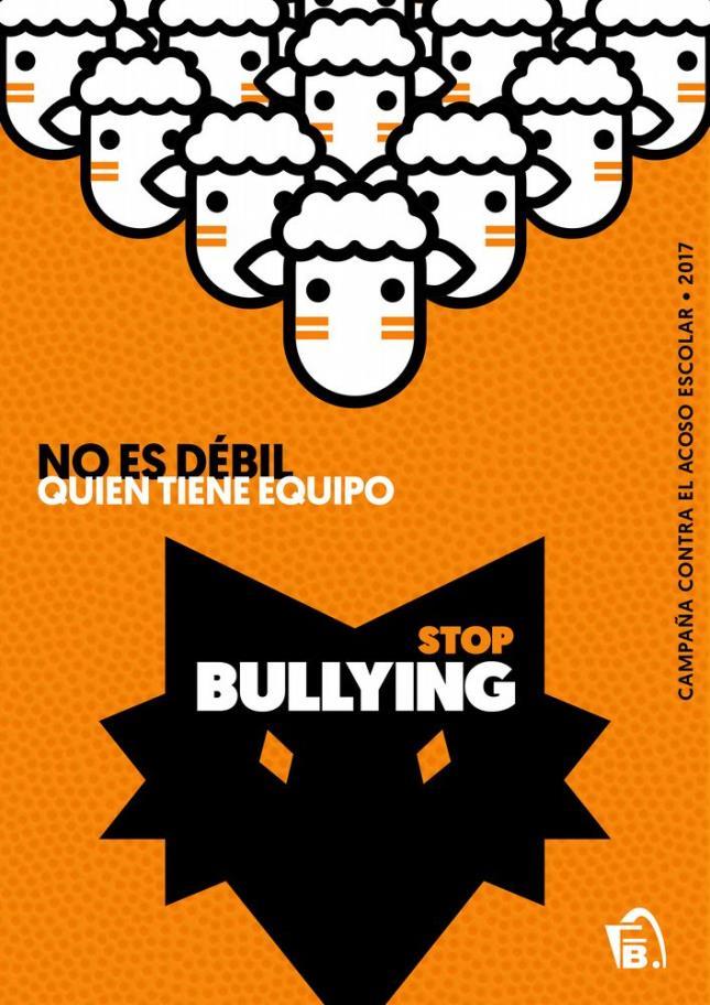 """Campaña contra el abuso escolar """"Stop bulling"""""""
