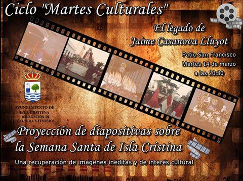 El legado de Jaime Casanova Lluyot en los Martes Culturales de Isla Cristina