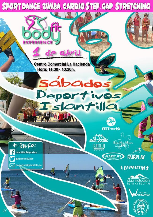 Islantilla ofrece Fitness con Bodyfit Experience este fin de semana en su Sábado Deportivo