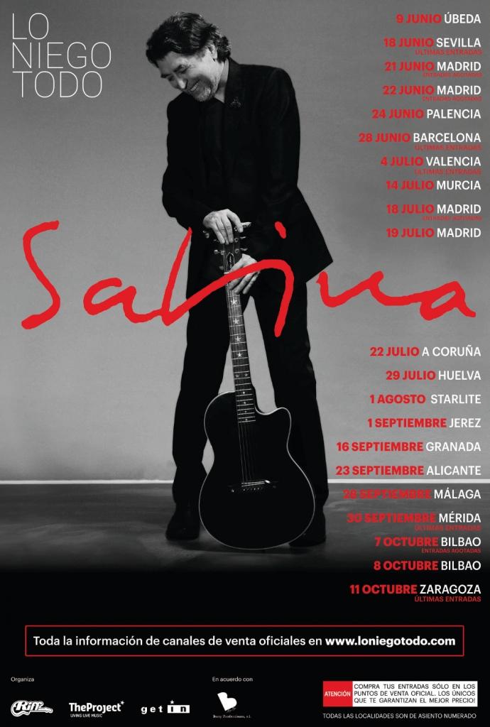 Joaquín Sabina actuará en el Estadio Iberoamericano en su regreso a los escenarios