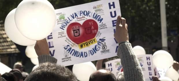 Manifiesto de Huelva por una sanidad digna