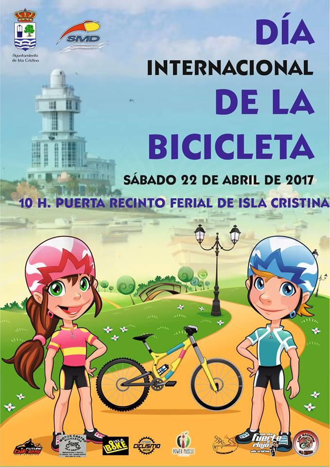 Día Internacional de la Bicicleta en Isla Cristina