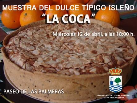 """Abierto el plazo de inscripciones para la muestra del dulce típico de Isla Cristina """"LA COCA"""""""
