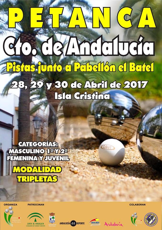 Campeonato de Andalucía de Petanca en Isla Cristina