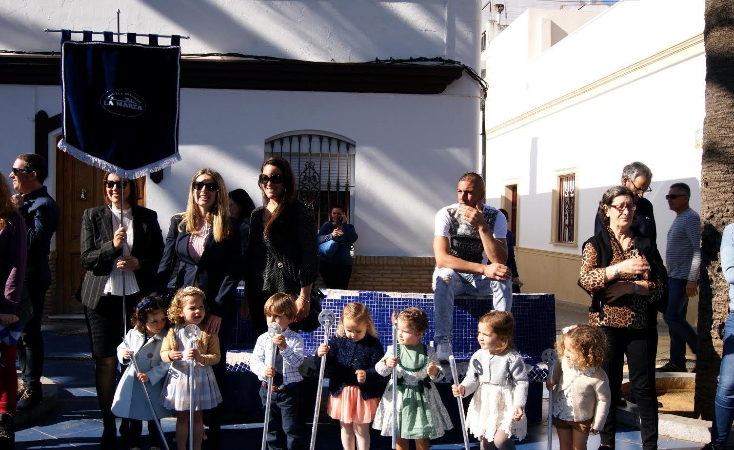 Los pequeños isleños, protagonistas del Viernes de Dolores