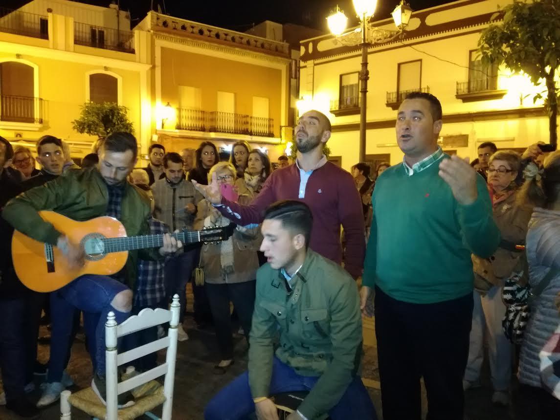 Despedida de la Salve con Francisco José Sequera y Kalandraque