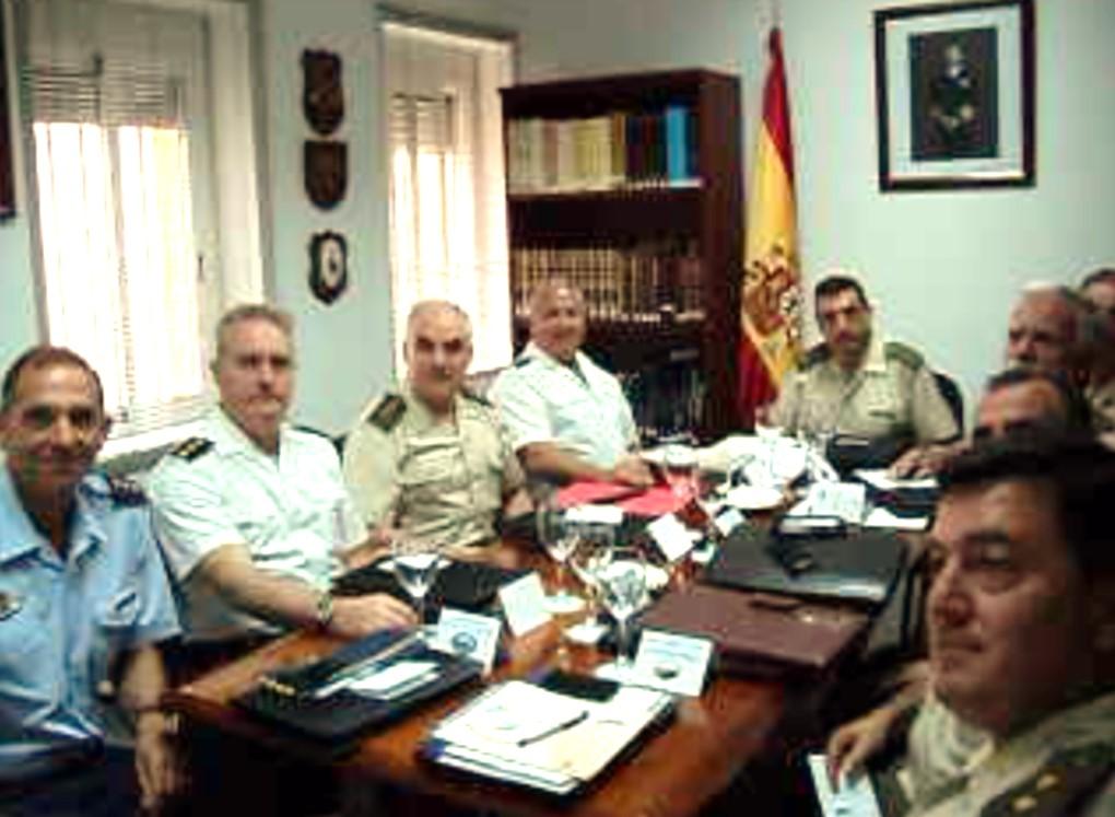 Reunión de Subdelegados de Defensa en Huelva