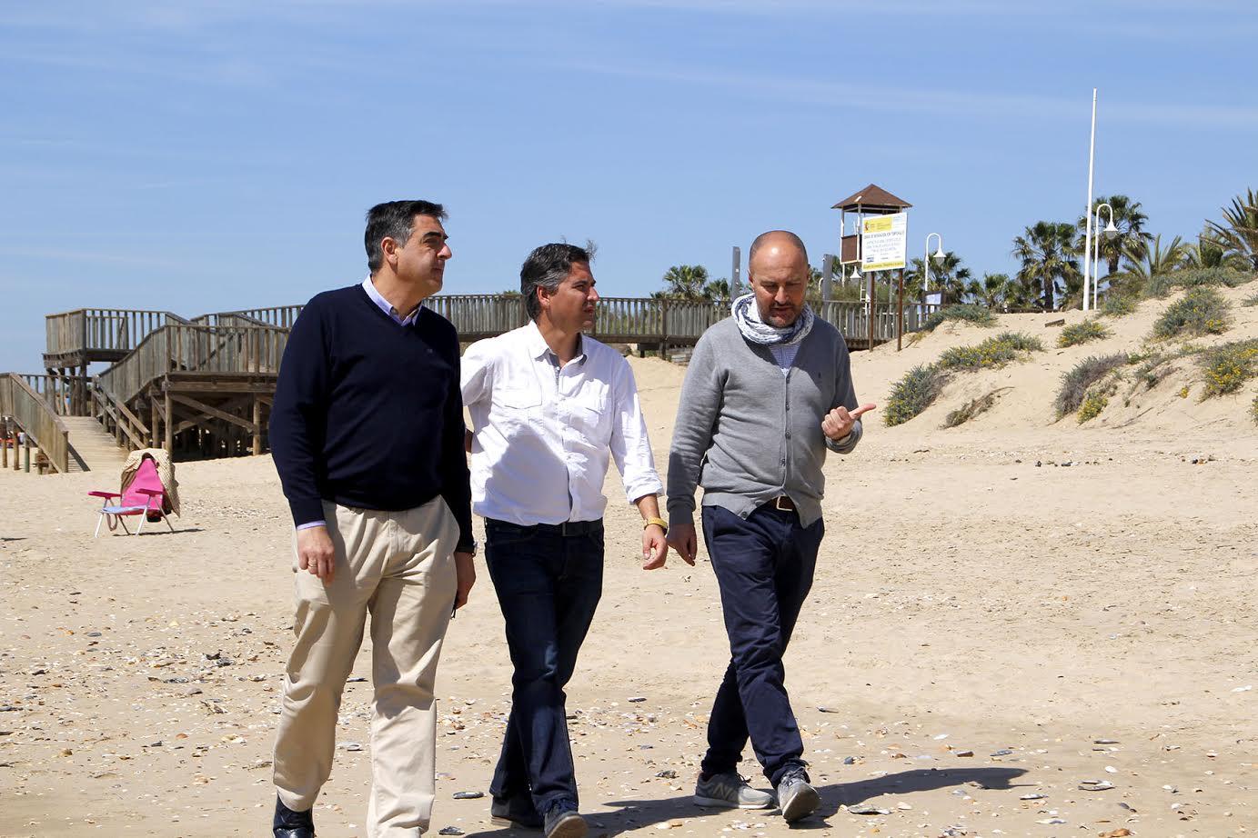 La Playa de Islantilla activa sus servicios especiales para Semana Santa
