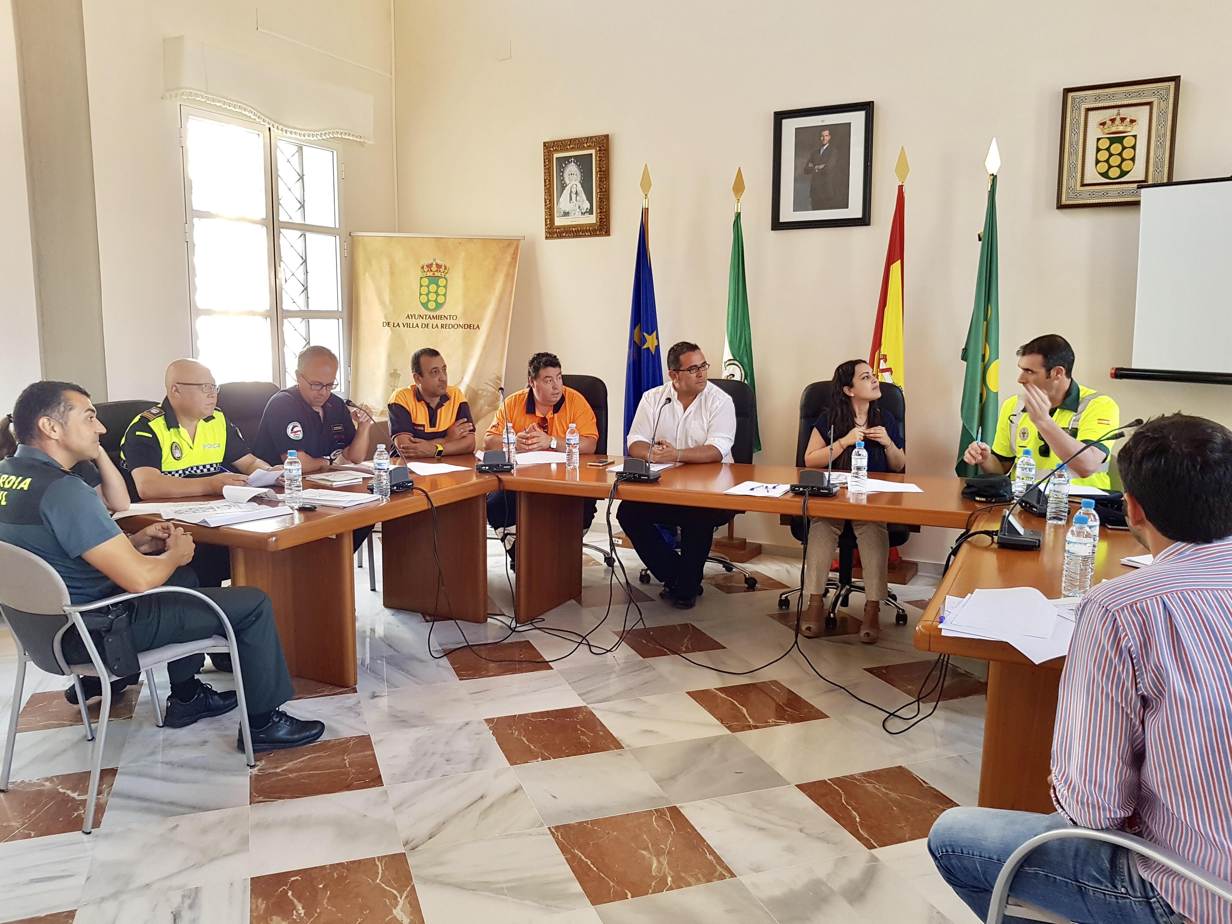 Celebrada en La Redondela la primera reunión de coordinación del Plan Romero de la próxima romería de la localidad.