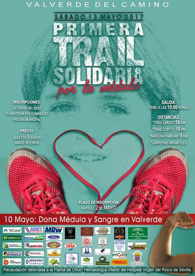 Valverde celebra la I Trail Solidaria por la Médula