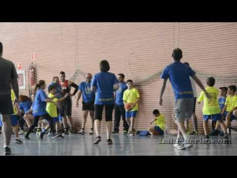 Fiesta-clausura de la Escuela de Baloncesto Base de Isla Cristina