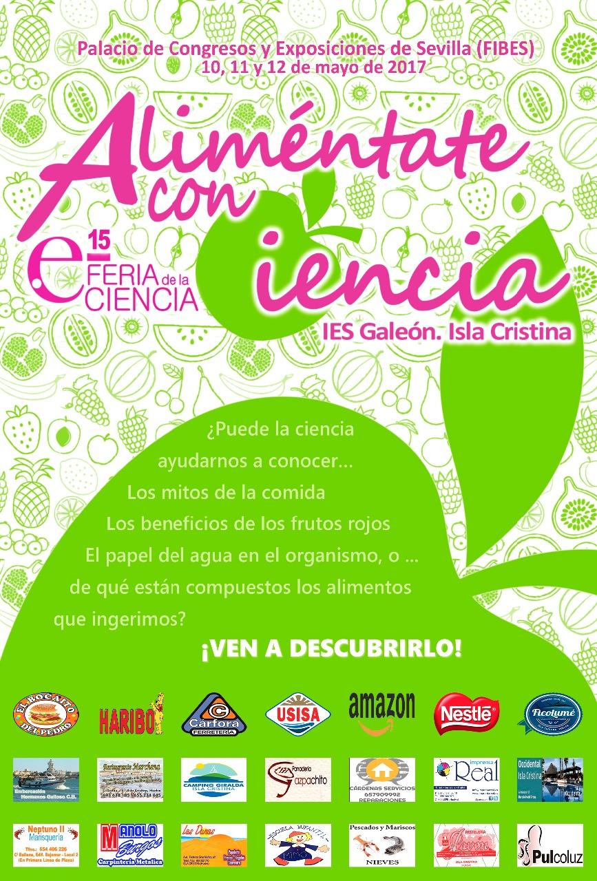 El IES Galeón de Isla Cristina presente en la 15 Feria de la Ciencia