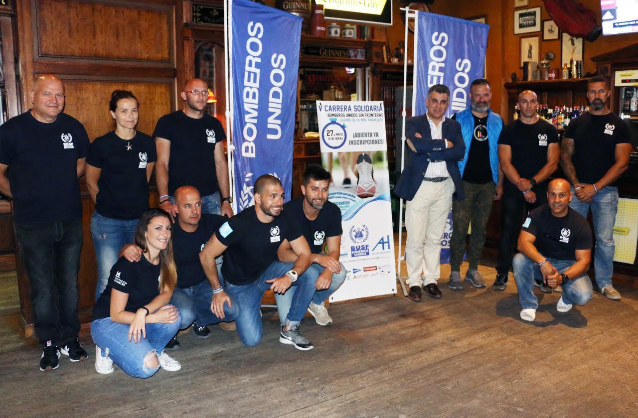 Busf presenta su V carrera solidaria en Huelva que se celebrará el 27 de mayo