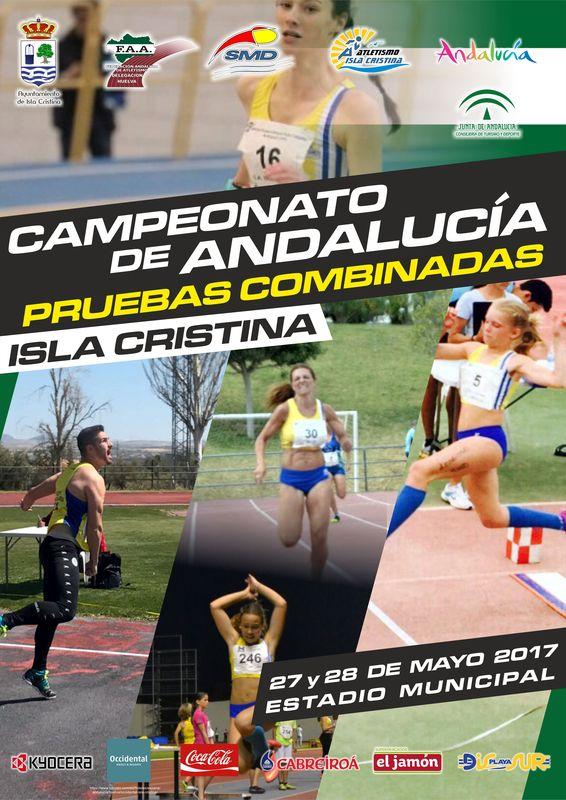 Campeonato de Andalucía de Pruebas Combinadas en Isla Cristina