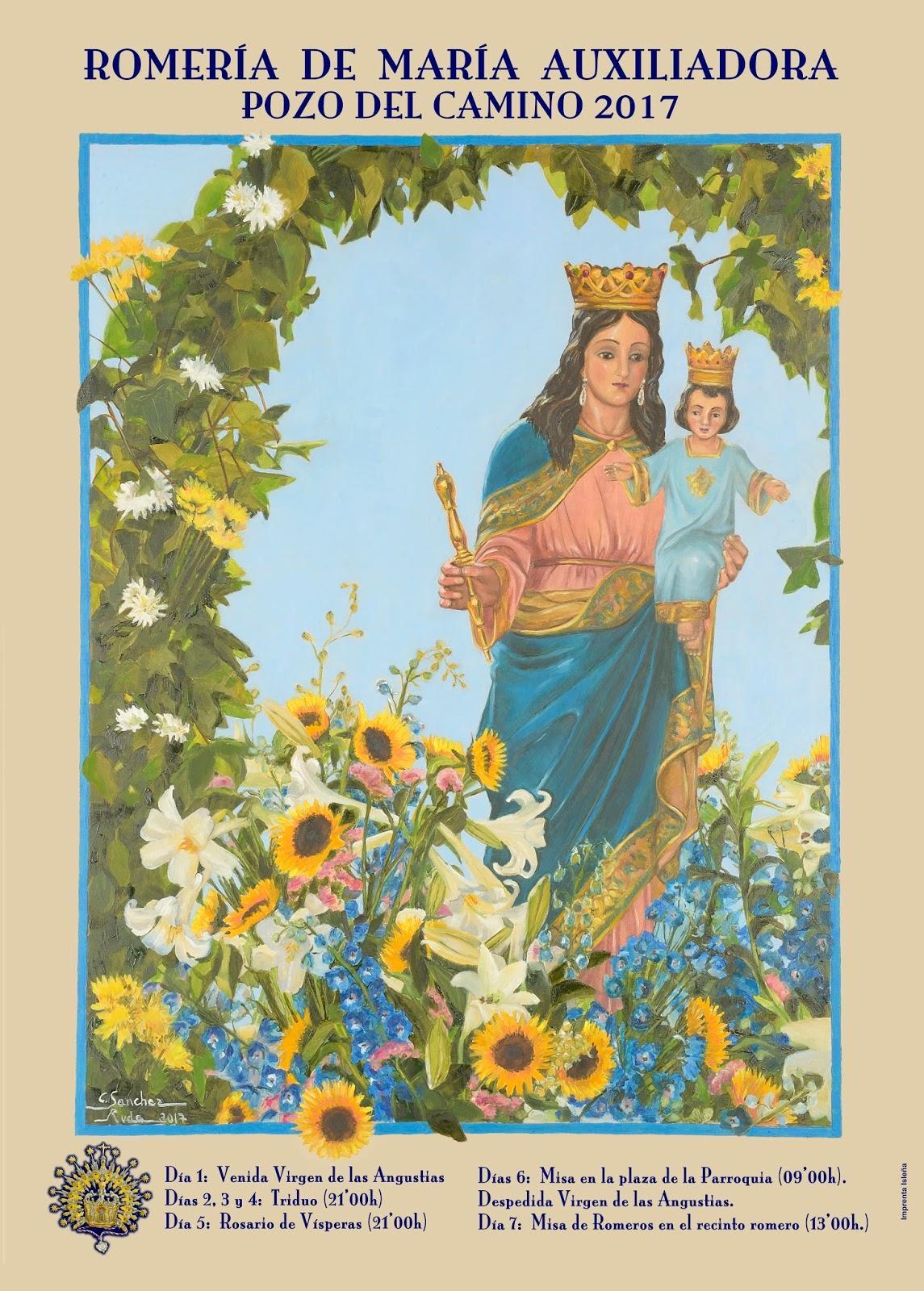 Romería en honor a la Virgen de María Auxiliadora de Pozo del Camino 2017