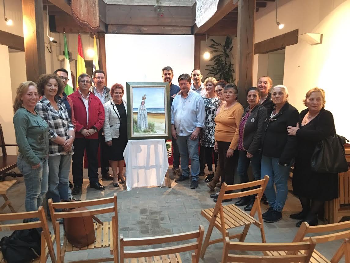 La Pro-Hermandad de la Virgen de Fátima presenta un cartel conmemorativo del Centenario de las apariciones de la Virgen a los partorcitos