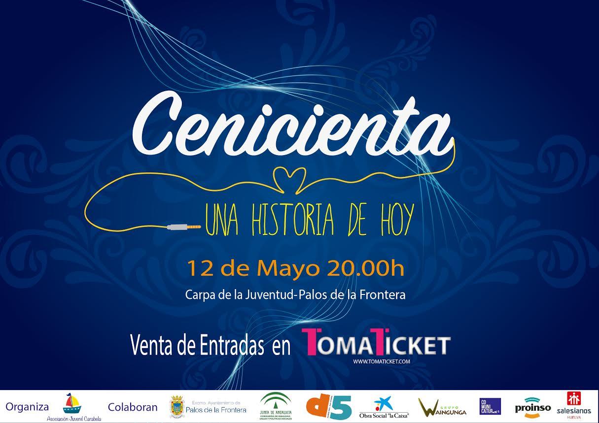 La Asociación Carabela revive su versión más solidaria de 'La Cenicienta' en un musical en Palos