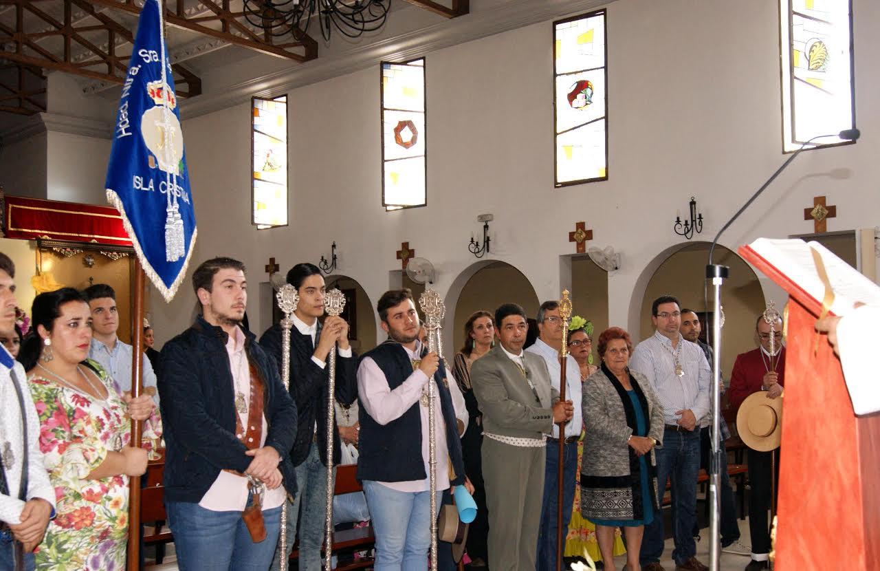 Isla Cristina peregrina ya hacia el Recinto Romero del Terrón