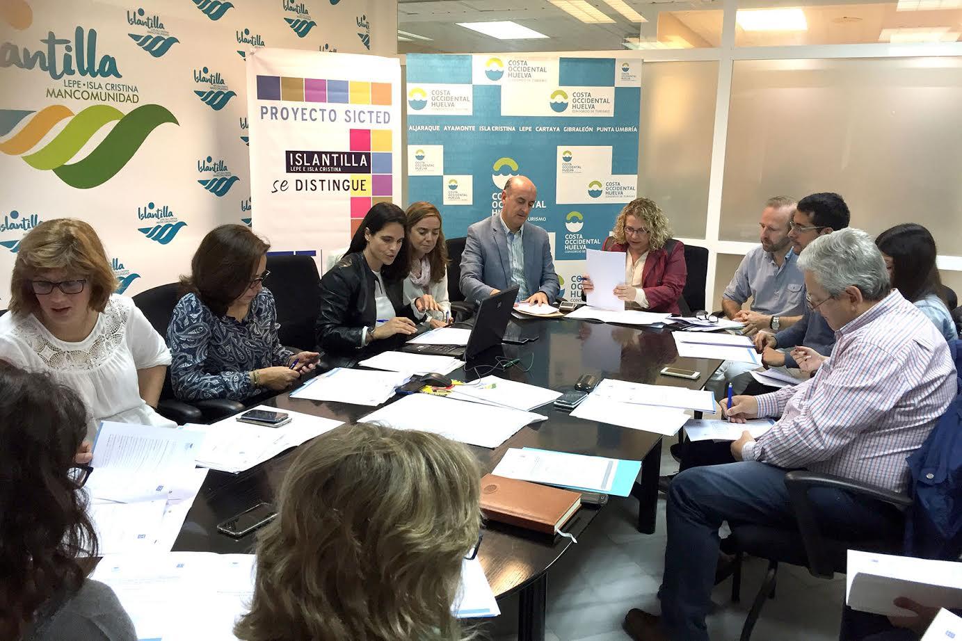 Mesas de Calidad del Consorcio de Turismos Sostenible Costa Occidental de Huelva y del destino Islantilla
