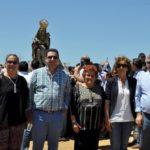 La Patrona de Ayamonte visita Pozo del Camino
