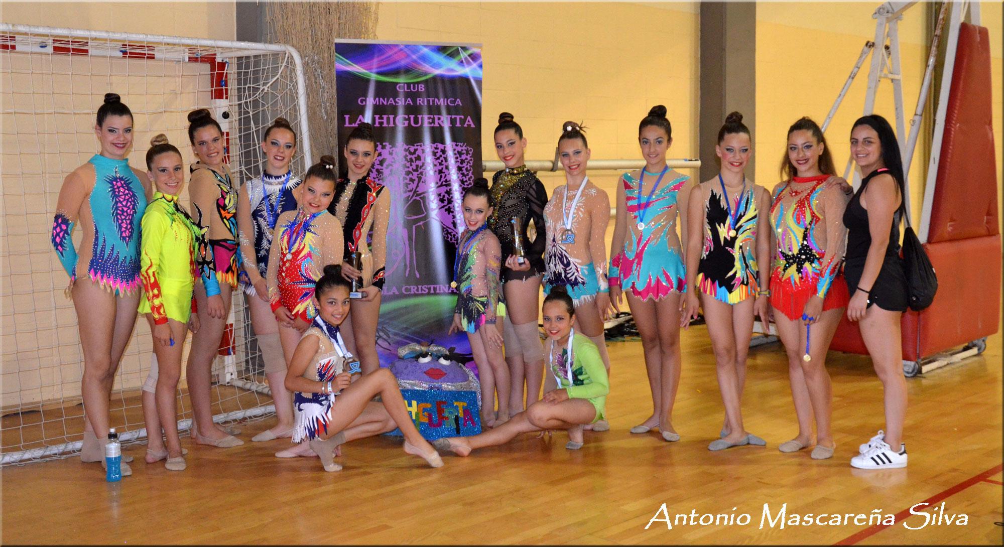 Galería Fotográfica del club de Gimnasia Rítmica la Higuerita en el VIII Torneo Kandela (Cádiz)