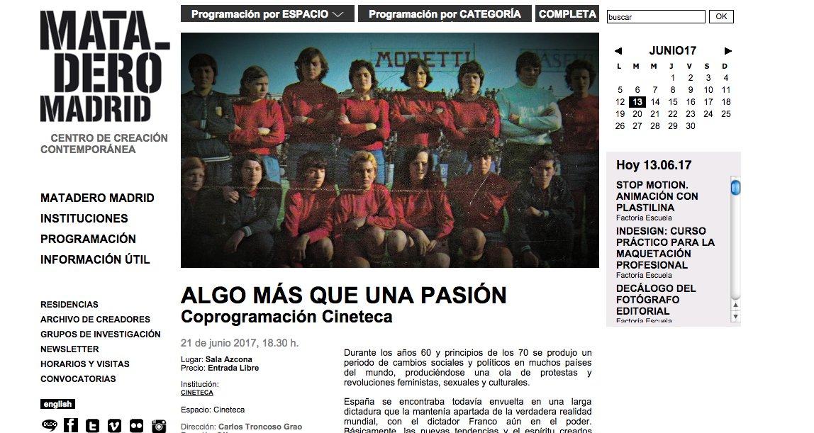 Hoy se estrena en Madrid