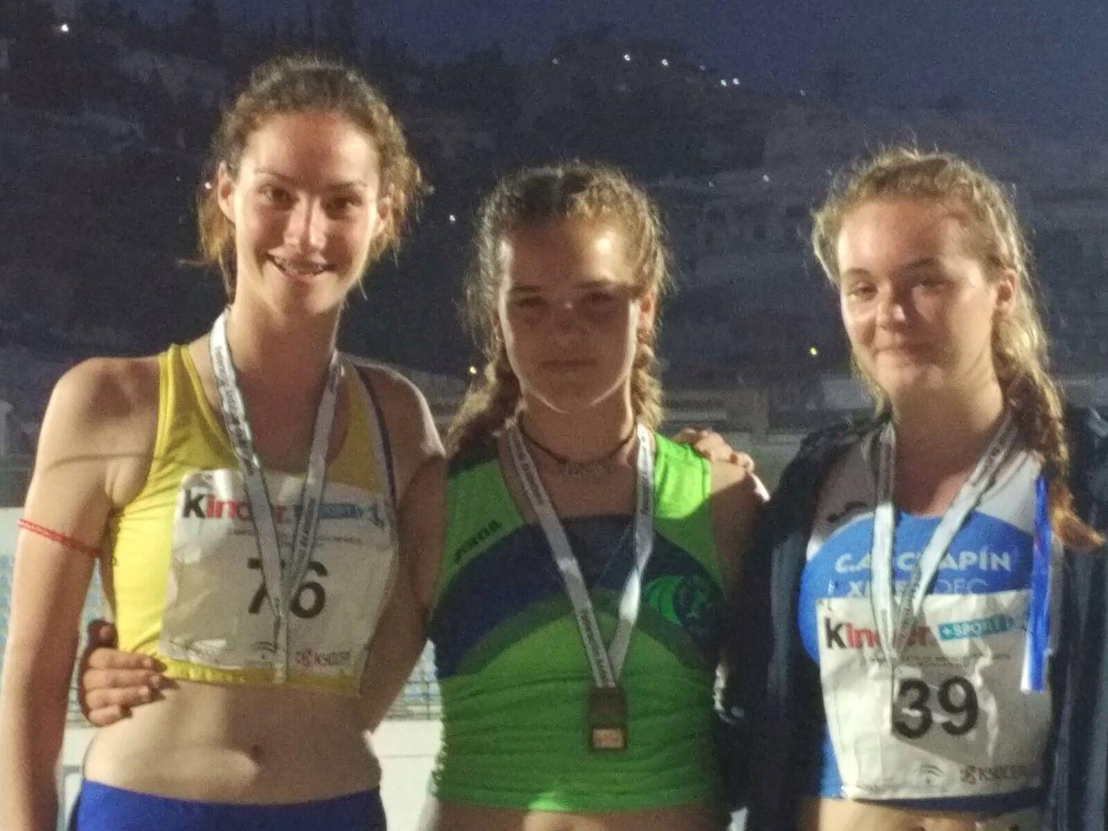 Los cadetes onubenses logran 6 medallas del Andaluz de Atletismo