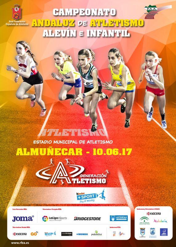 Un total de 28 atletas onubenses en el Campeonato de Andalucía Infantil de Atletismo