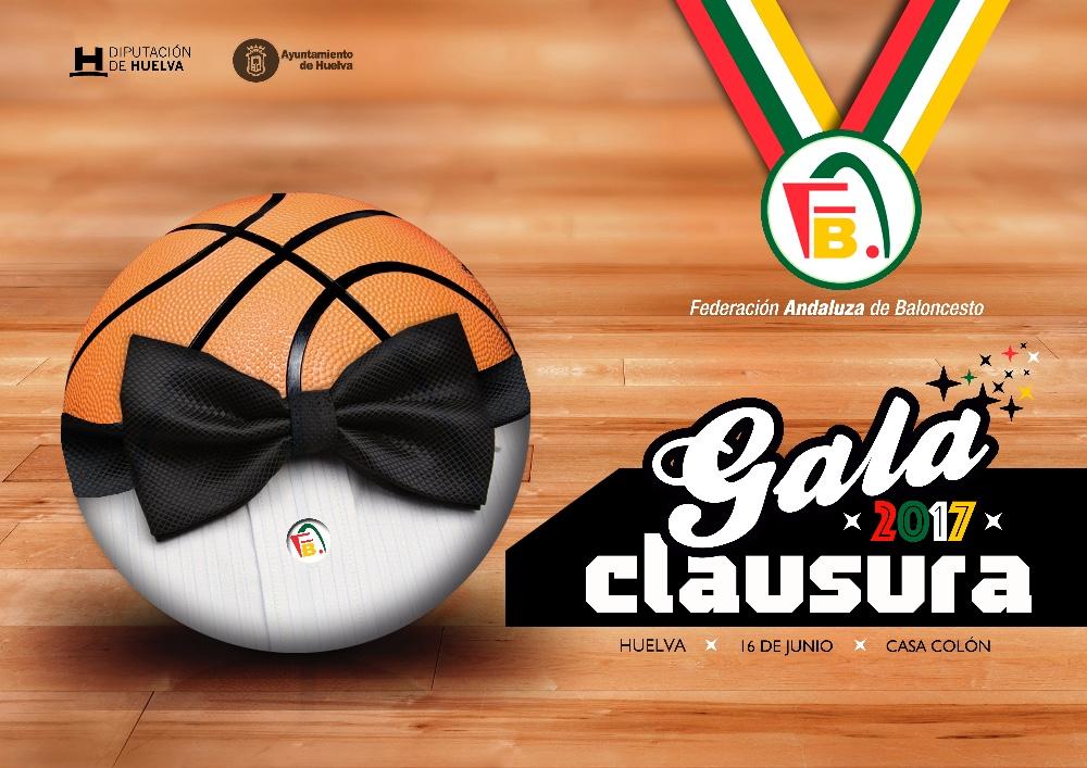 Gala de clausura y entrega de premios temporada 2016/2017 de FAB Huelva