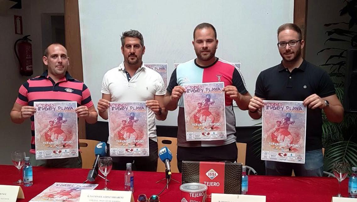 Torneo de Rugby-Playa para este fin de semana en Isla Cristina