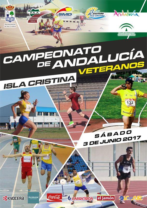 Campeonato de Andalucía de Veteranos al Aire Libre en Isla Cristina