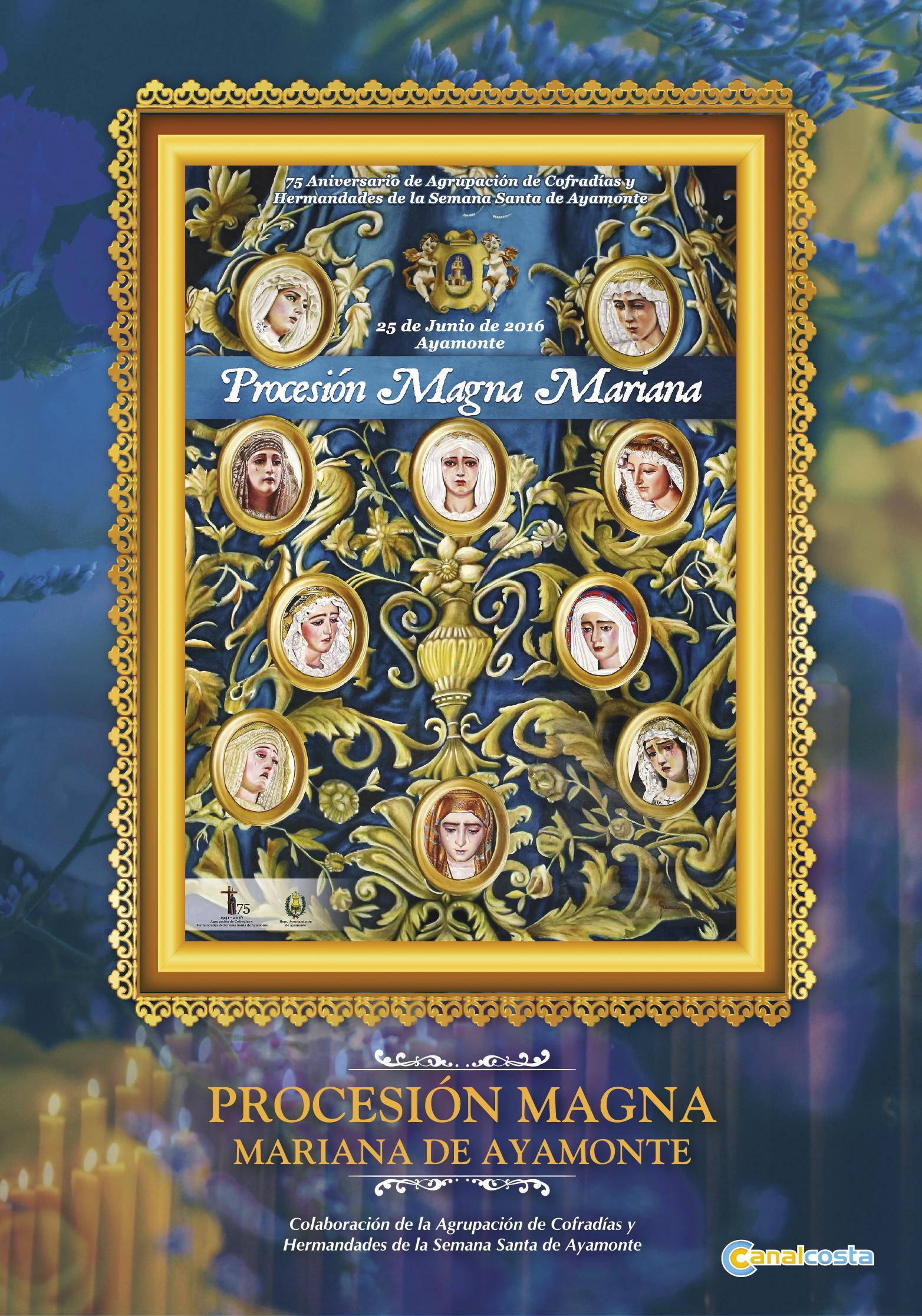 La Procesión Magna Mariana de Ayamonte tendrá un DVD especial con motivo del primer aniversario de su celebración gracias a Canalcosta televisión