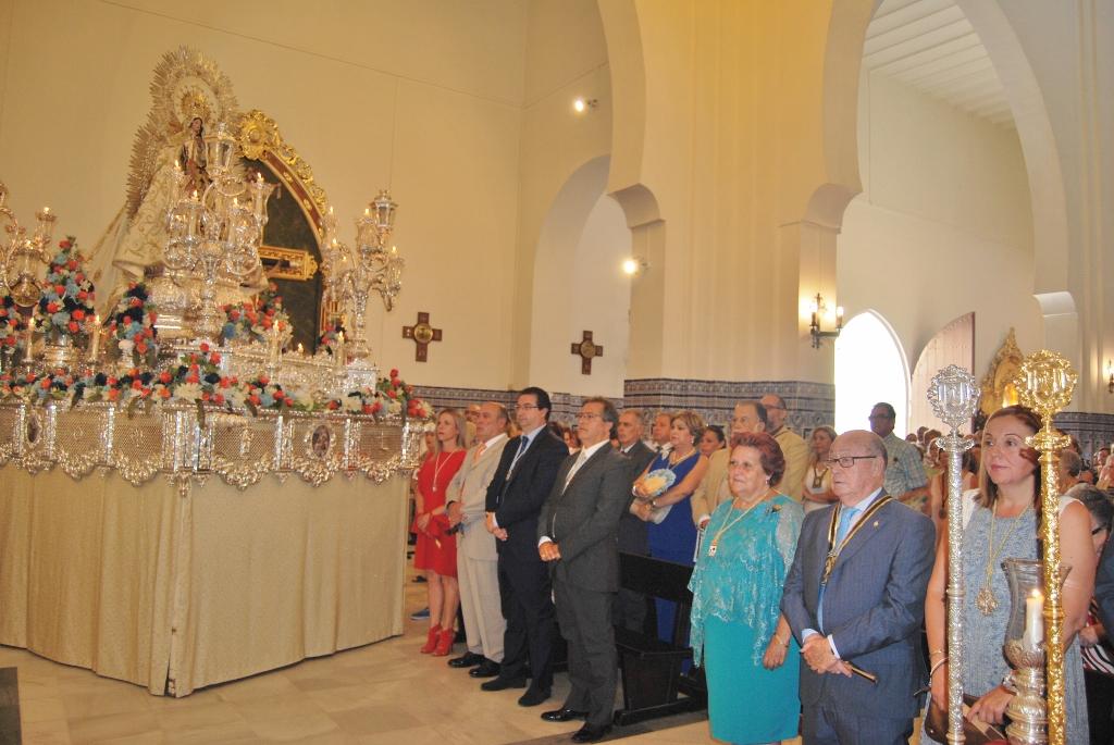 La procesión pone fin a las Fiestas del Carmen en Isla Cristina