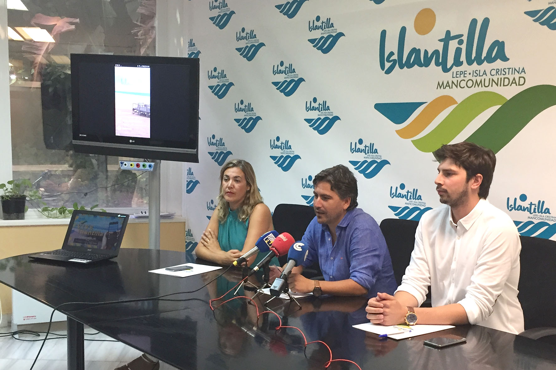 Presentación de la app de información turística VIVE ISLANTILLA