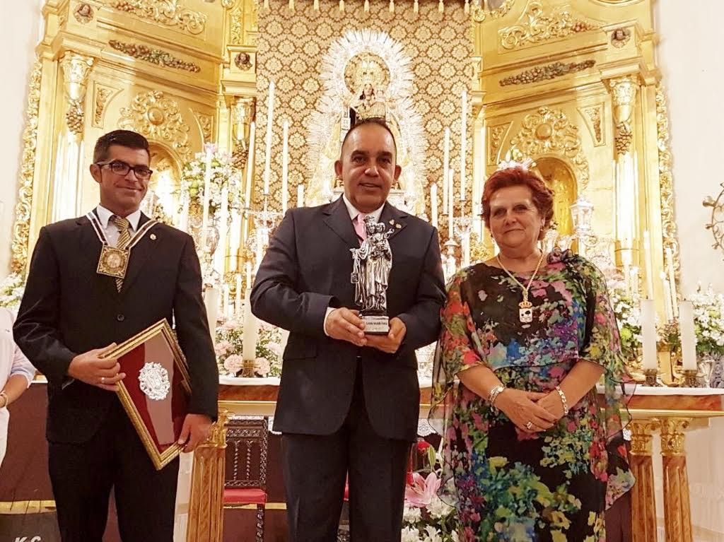 Carmelo Fernández Faneca Exaltó a la Virgen del Carmen antes de que empiecen las fiestas en su honor