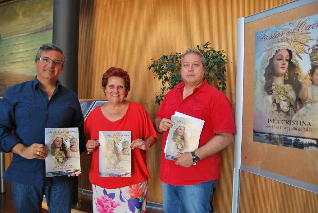 Presentada las Fiestas en Honor a la Virgen del Carmen de Isla Cristina
